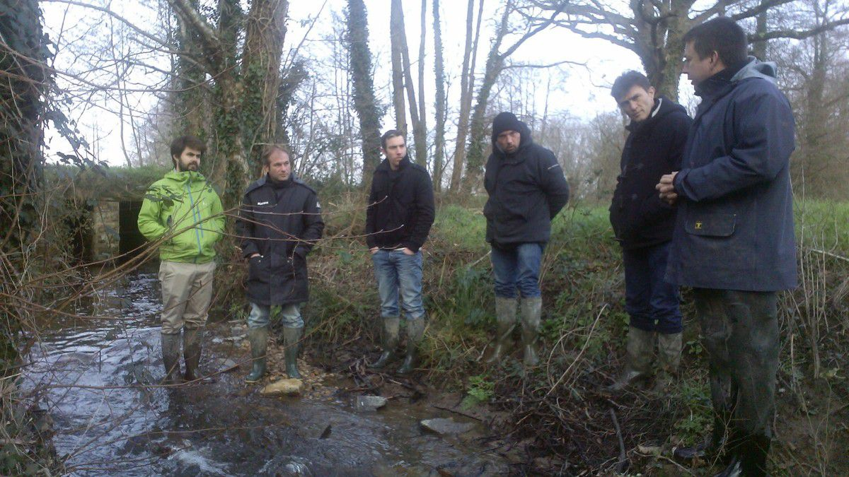 Aménagement des bords de rivière. A la conquête de la bonne qualité écologique des eaux!