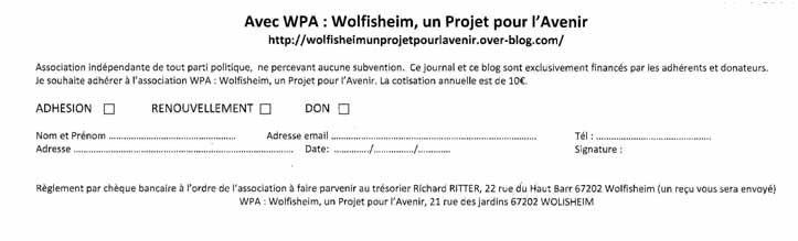 WPA: Journal L'Echo de Wolfi
