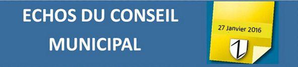 WPA: Echos du Conseil Municipal