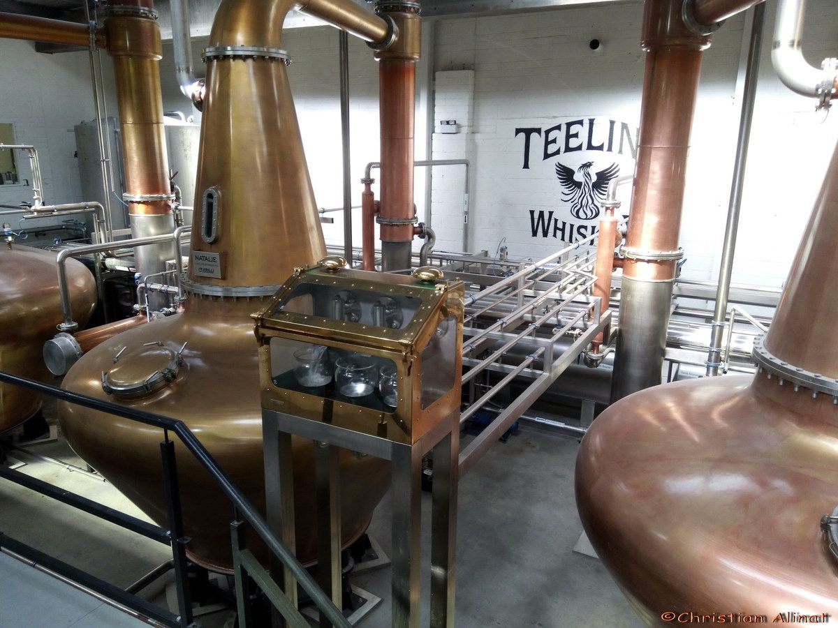 La distillerie de Whiskey Teeling