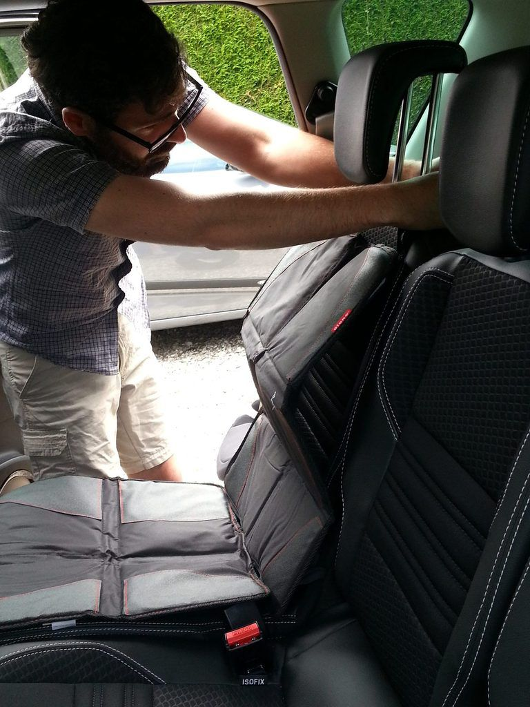 [J'ai testé] la protection pour siège auto