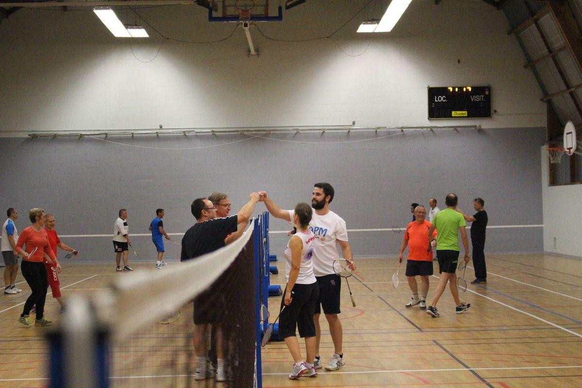 27/10/ soirée badminton- basket acte 2