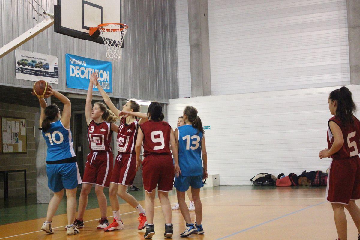 12/11/ seniors filles vs Notre dame d'oé