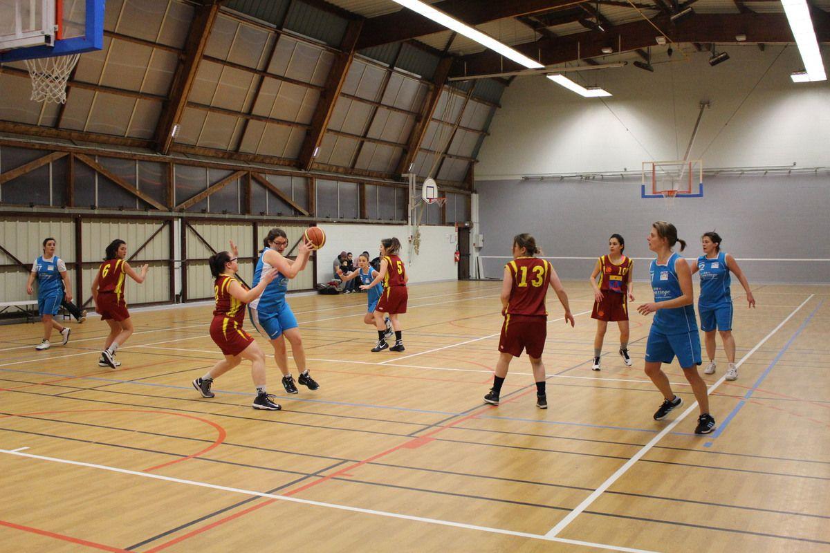 11/02/ seniors filles vs Amboise