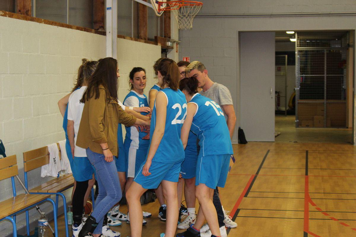 25/03/ Seniors filles vs Azay