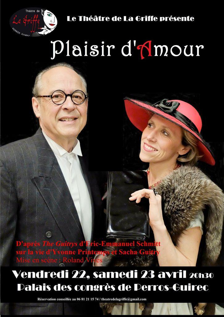 Théâtre de la griffe à Perros : Yvonne Printemps et Sacha Guitry