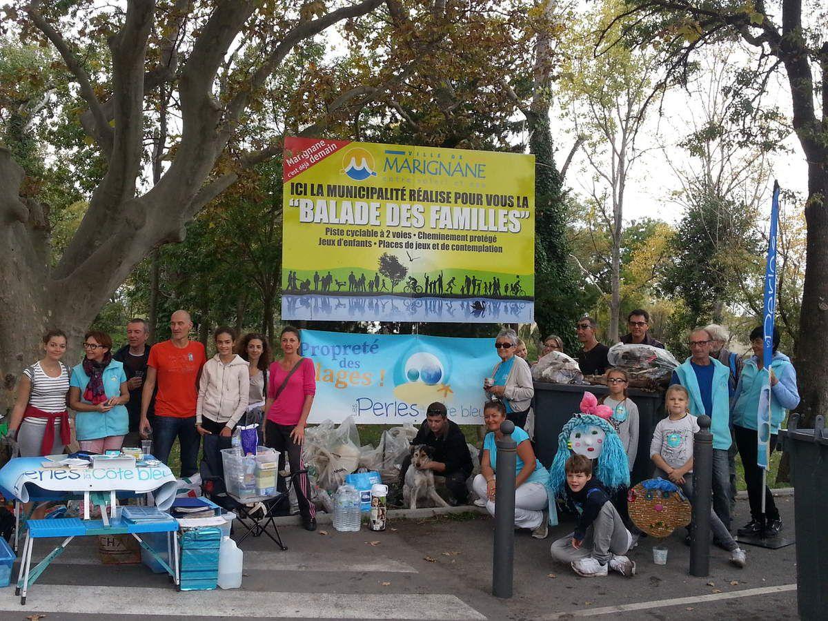 Opération nettoyage Étang de Bolmon du 24 Octobre 2015