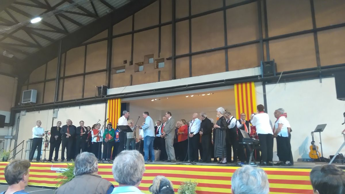 Diada de la Federació de Cors de Clavé Catalunya Nord