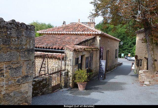 Un court passage à Bonaguil