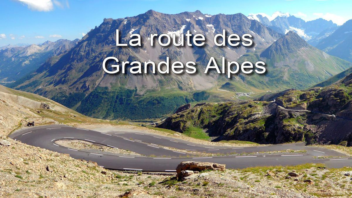 &quot&#x3B;LA ROUTE DES GRANDES ALPES&quot&#x3B; [Replay] diff.en Avril 2016 France 5