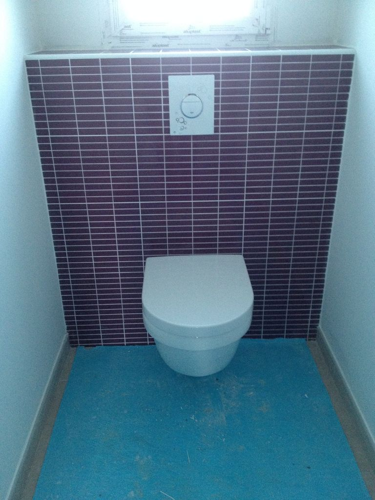 Habillage wc suspendu (3 photos) - SARL Durou & fils Hagetmau