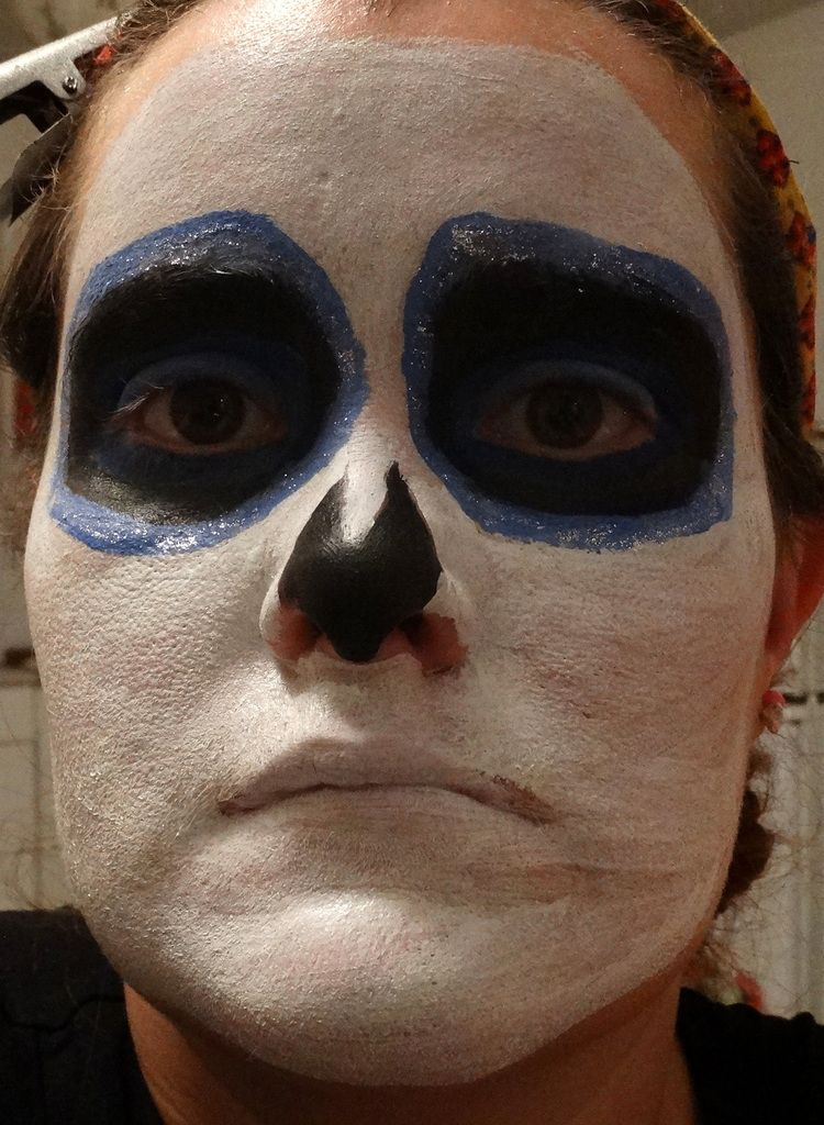 Sugar Skull - Make up Halloween