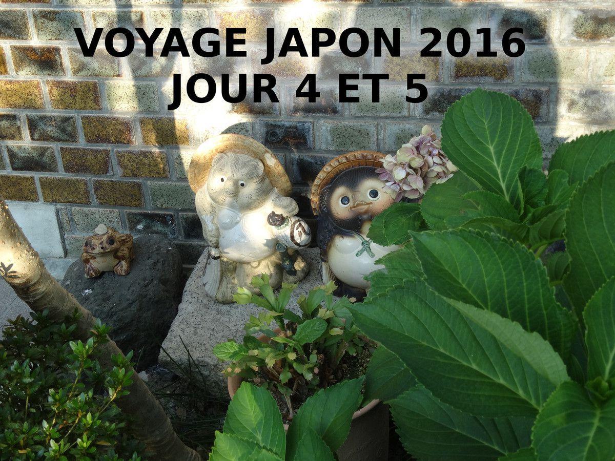 Voyage Japon août 2016 - Osaka/Kyoto - Jour 4 et 5