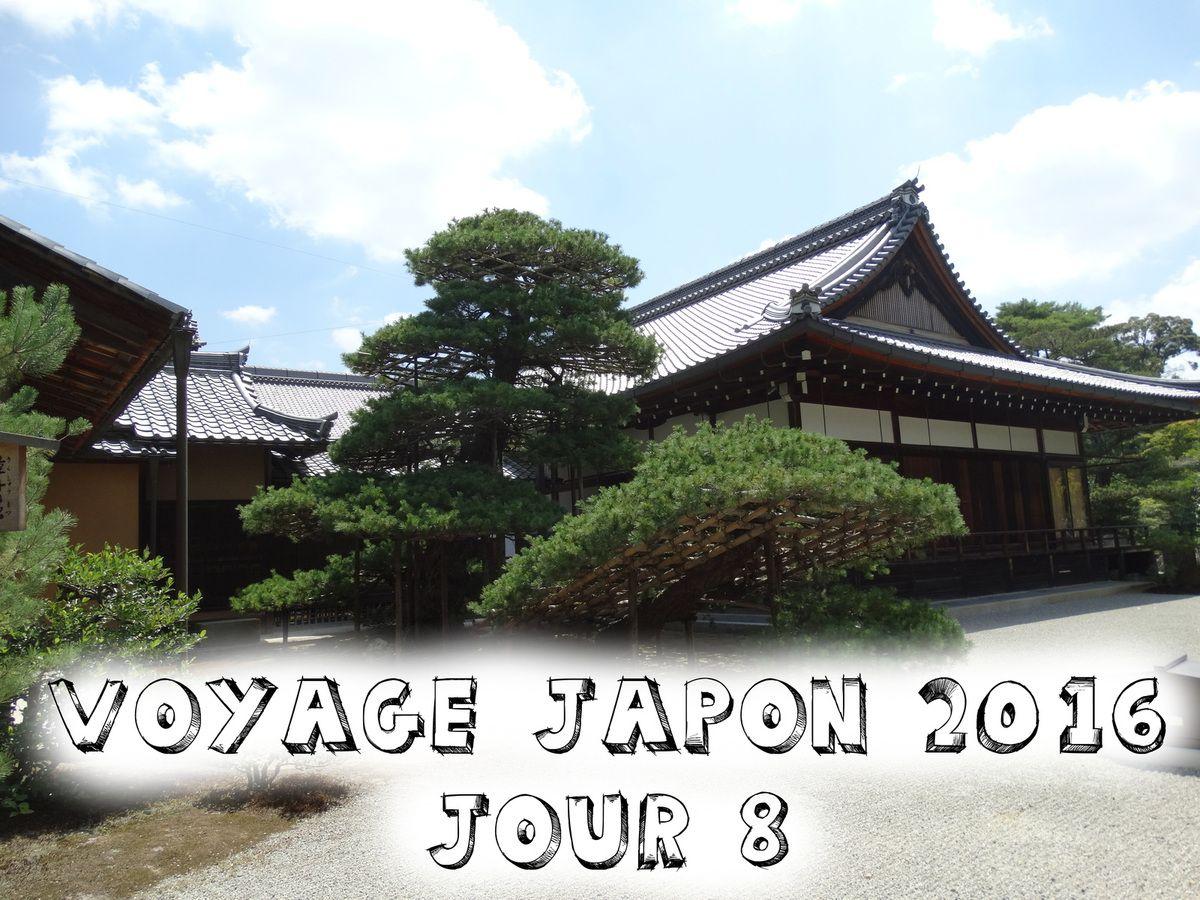 Voyage Japon août 2016 - Kyoto - Jour 8