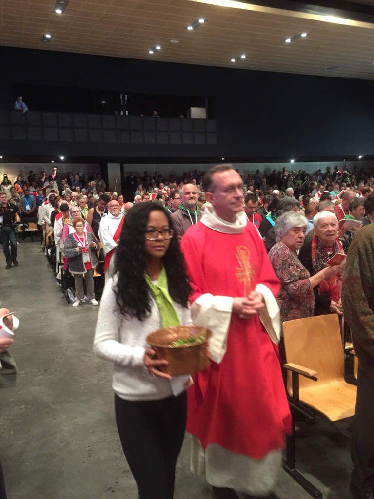 Les photos de la célébration de Pentecôte du rassemblement national de la mission ouvrière