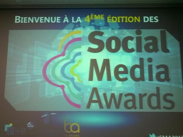 Social Media Awards 2015 organisés par Paris Business School & Sorbonne Management