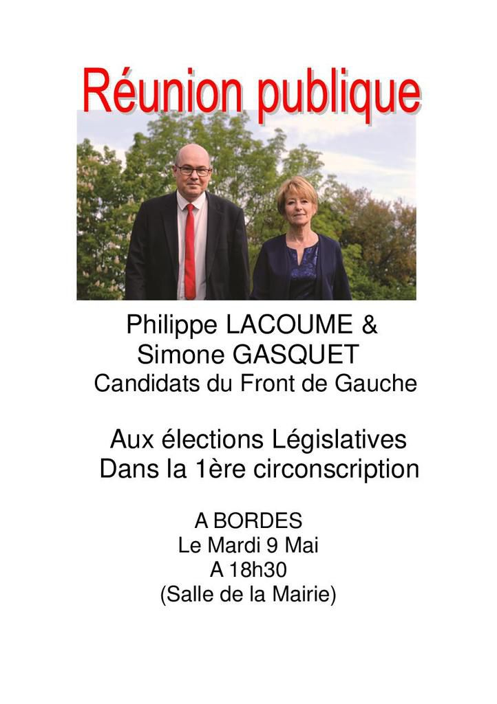 Legislatives a la reunion