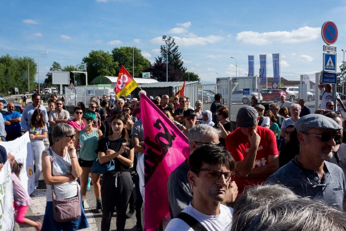 Rassemblement du 27 juillet à Séméac contre &quot&#x3B;le mur de la honte&quot&#x3B;