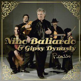 couverture du dernier cd de Nini Baliardo & Gipsy Dynasty  (Le Chant du Monde 2011)