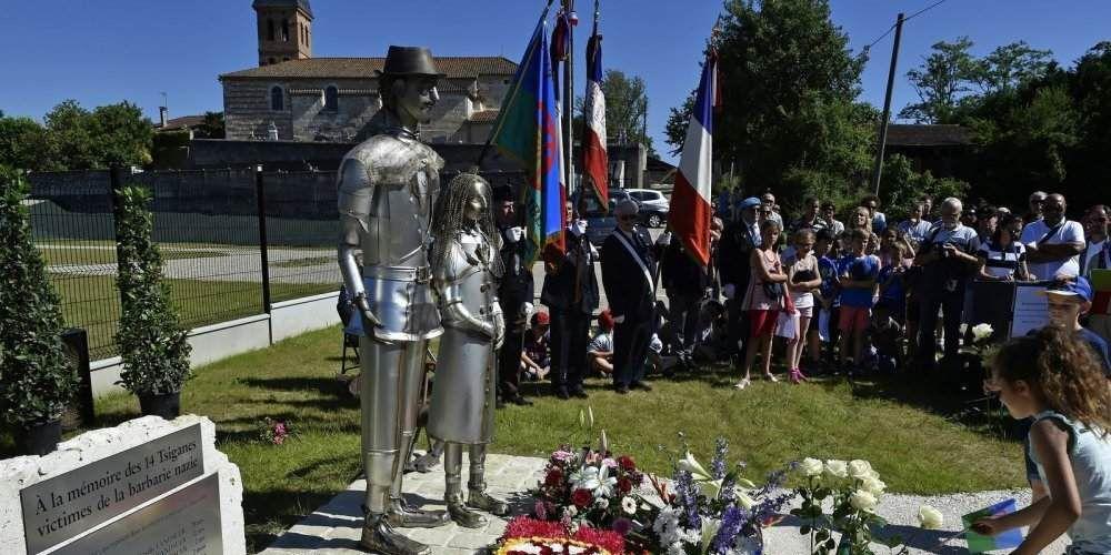 SAINT-SIXTE : HOMMAGE AUX TZIGANES VICTIMES DE LA BARBARIE NAZIE