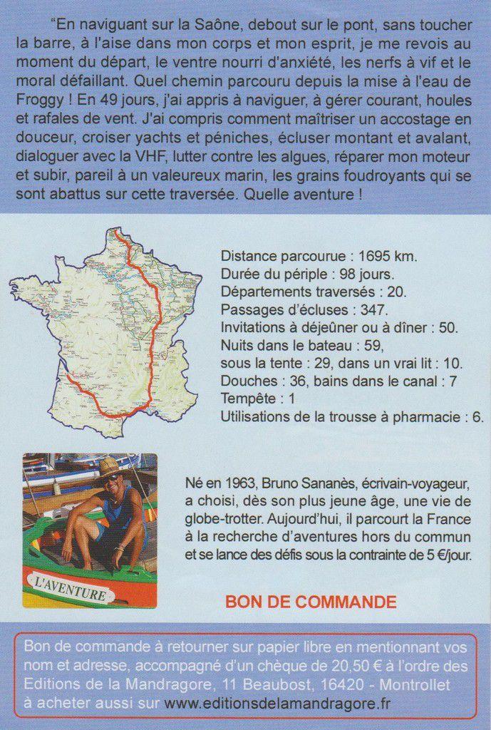 MON CONSEIL DE LECTURE : HISTOIRE DE TRAVERSER par Bruno SANANES