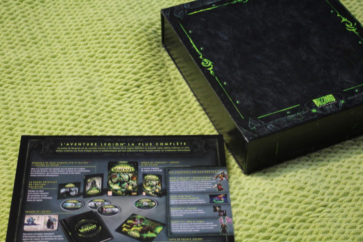 Unboxing: World of Warcraft - Legion Edition Collector