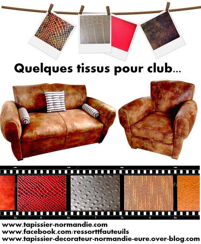 Vente de tissus pour clubs et autres fauteuils, chaises, rideaux ...