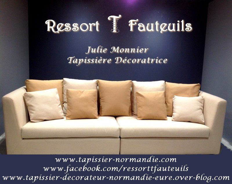 canap par ressort t fauteuils julie monnier tapissier d corateur dans l 39 eure entre rouen. Black Bedroom Furniture Sets. Home Design Ideas