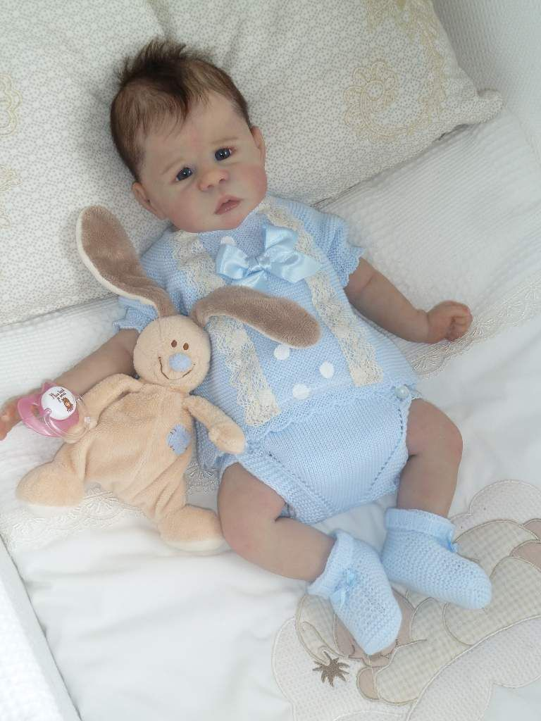 Bébé &quot&#x3B;Hope&quot&#x3B; petite puce Full Silicone ADOPTEE