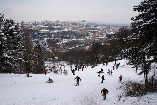 Une piste de Ski en plein cœur de Lyon