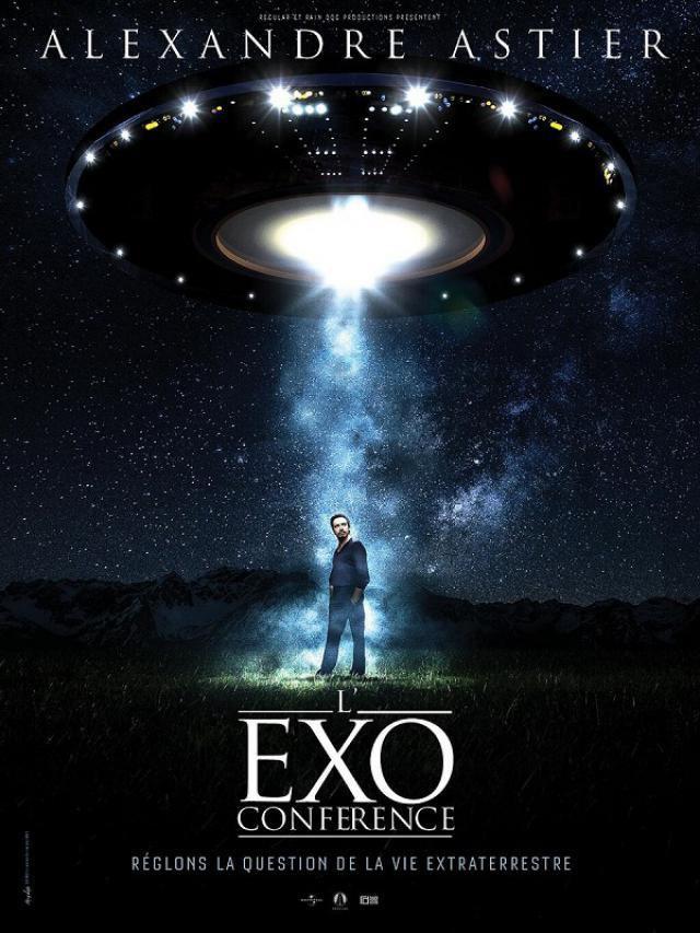 Alexandre Astier et L'Exoconférence