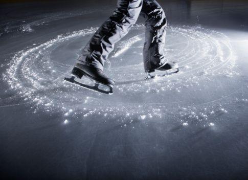 La patinoire des Lumières !