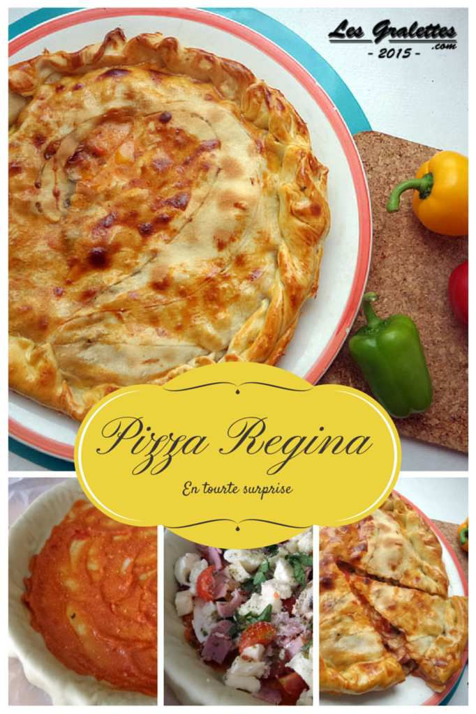 Bataille Food #24 : Pizza regina en tourte surprise.