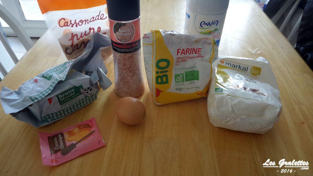 Les ingrédients pour réussir son pain de maïs