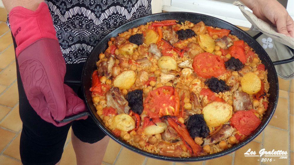 Recette valencienne : arroz al horno, le riz au four