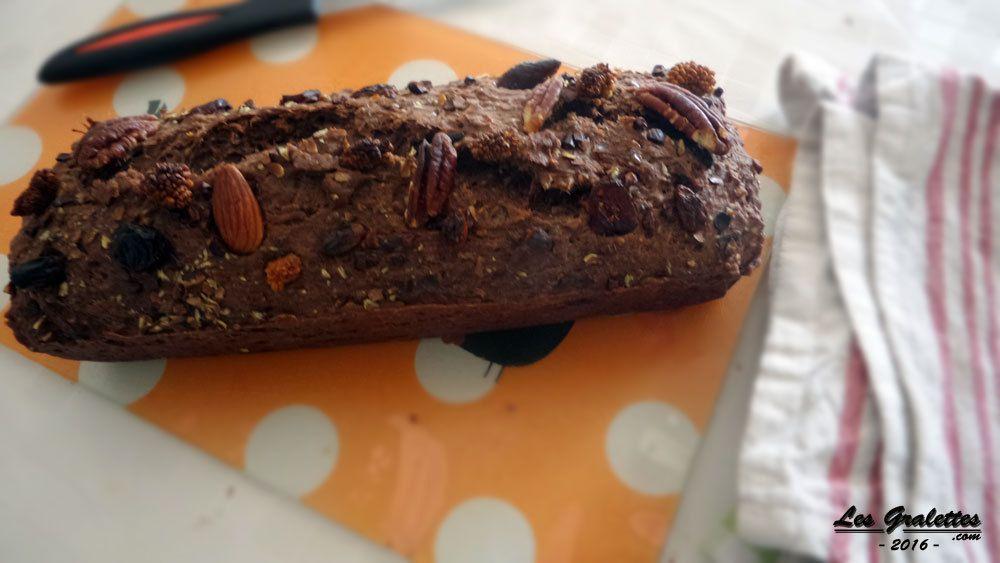 Recette : Cake coco-choco aux graines de chia