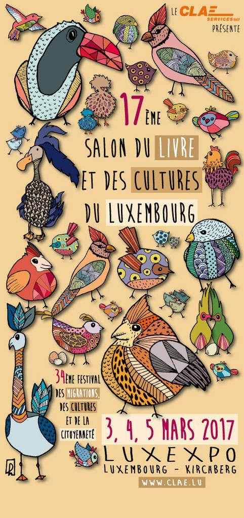 Salon du livre et des cultures 2017, Luxembourg-Kirchberg les 4 et 5 mars 2017