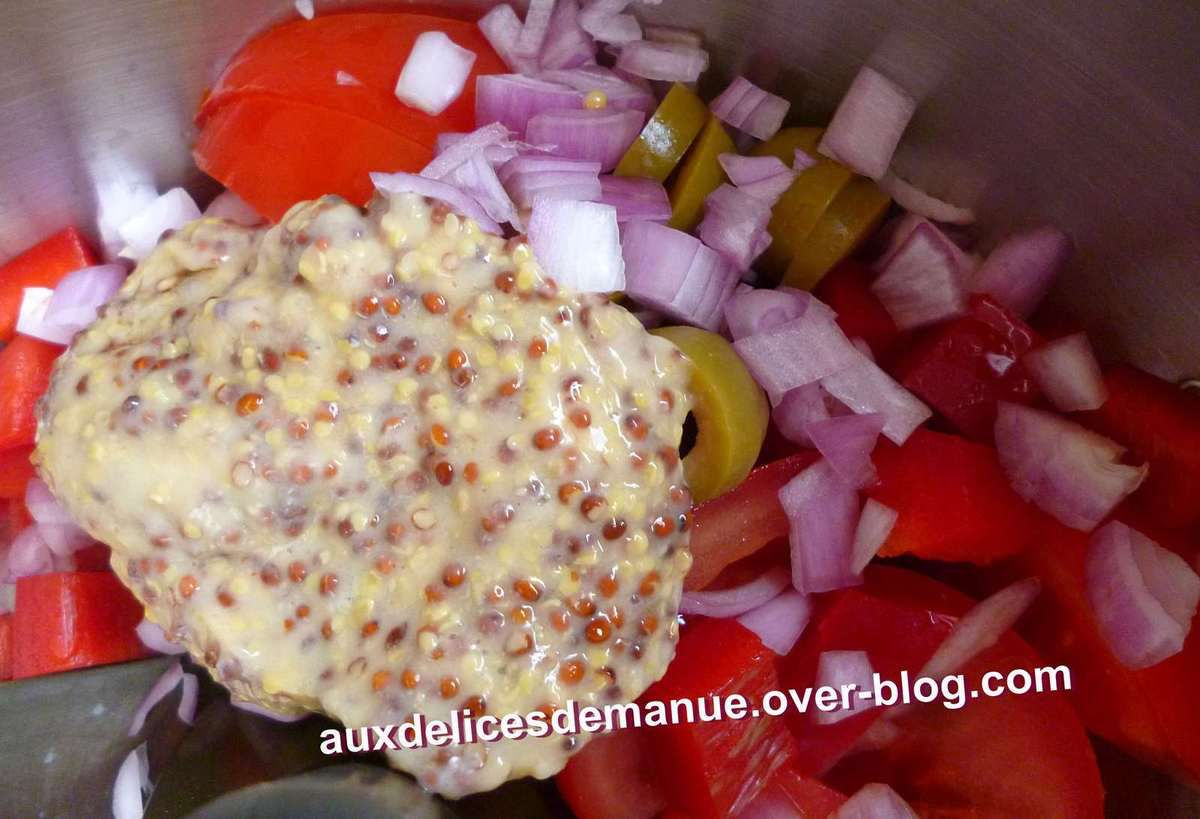 merlan et légumes sauce moutarde -LIGHT-