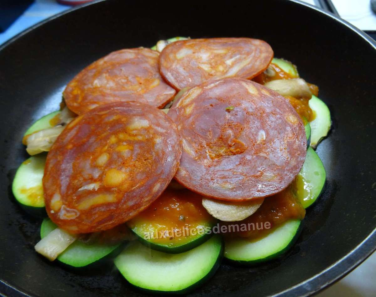 courgette pizza -LIGHT-