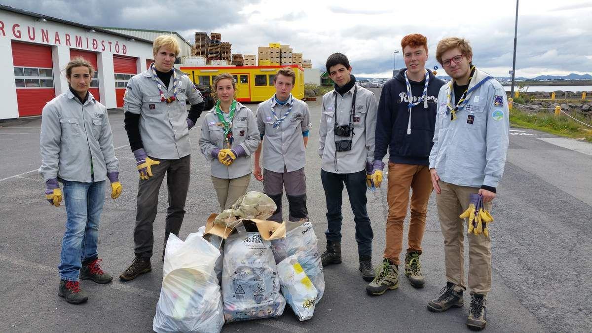 Journal des Aînés n°2 : visite de Reykjavik et nettoyage de plage