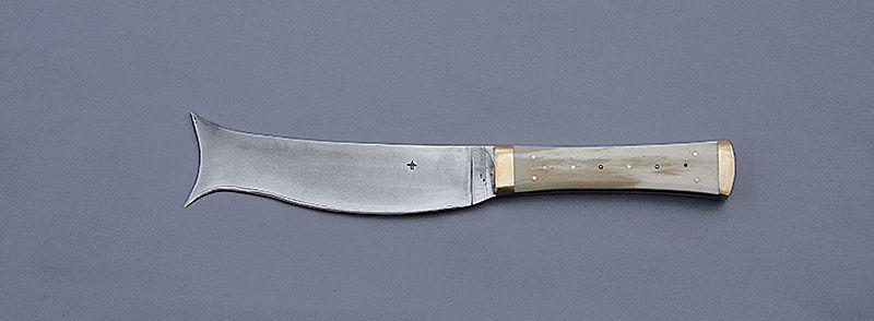 couteau pain xiiie si cle bread knife 13th century le blog de couteaux hier et aujourdhui. Black Bedroom Furniture Sets. Home Design Ideas