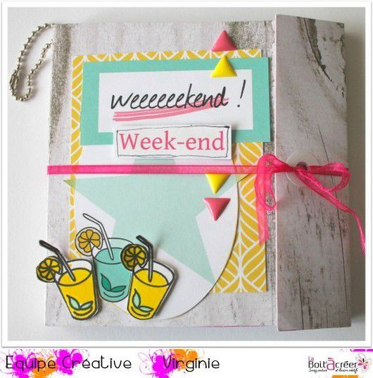 Mini album &quot&#x3B; week-end &quot&#x3B; par Lolotte
