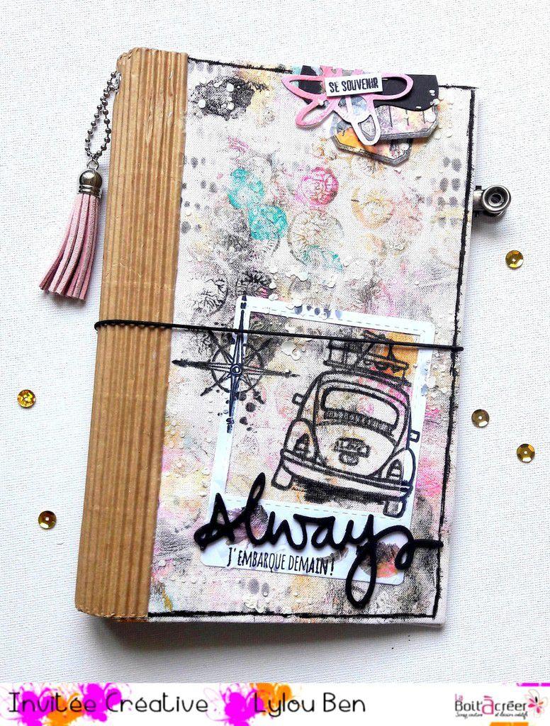 Tuto &quot&#x3B;carnet souvenir&quot&#x3B; par Lylou.ben