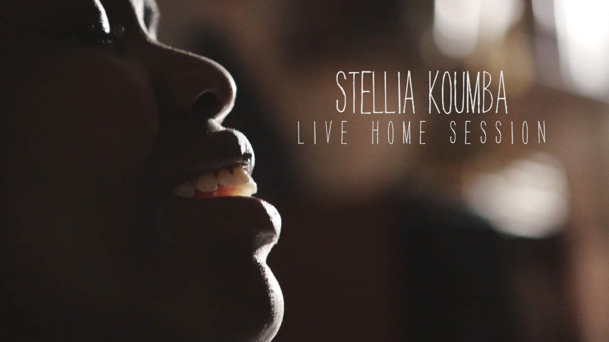 HOME LIVE SESSION / STELLIA KOUMBA