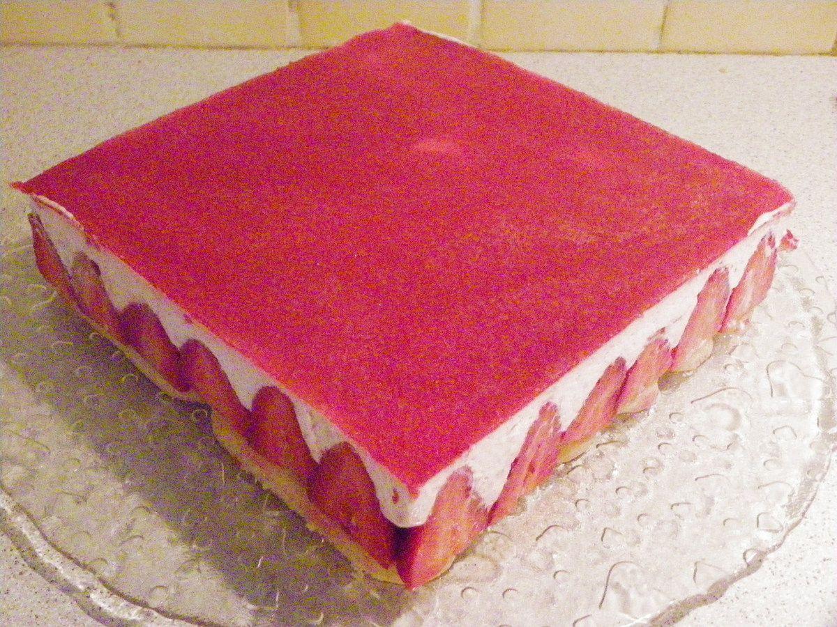 fraisier sans cuisson