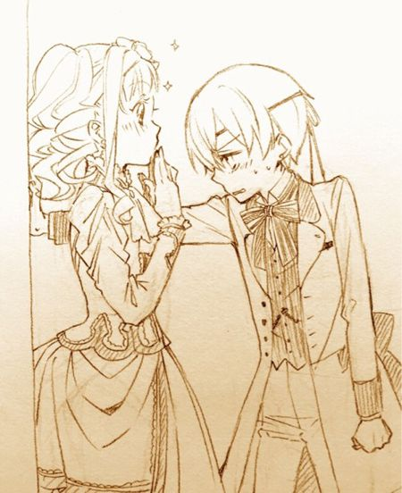 Kabe-don Ciel/Lizzy