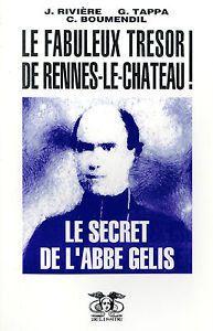 """""""LE SECRET DE L ABBE GELIS LA PISTE CORSE"""" de RIVIERE J. TAPPA G. BOUMENDIL C"""