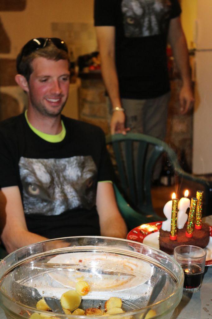 32 ans en 4h ou 4h en 32 ans, Joyeux anniversaire à STEPHANE.
