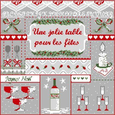 A broder pour NOEL