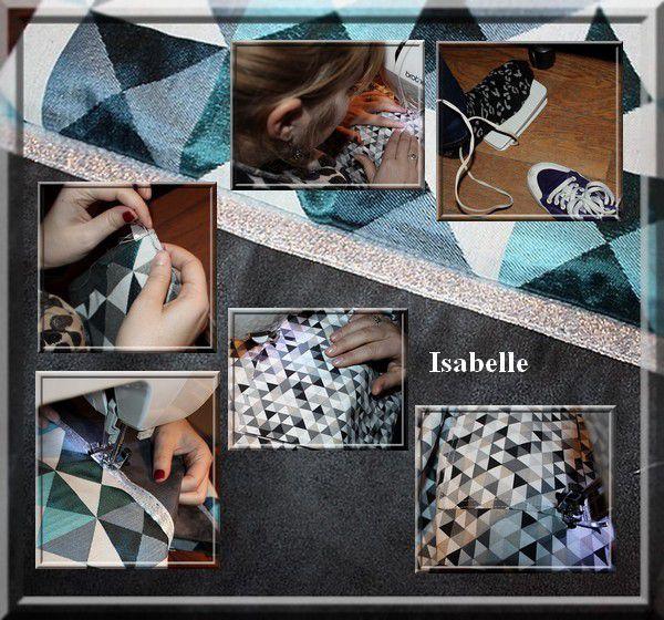 Cours de couture à Grenoble : Isabelle et Lucille